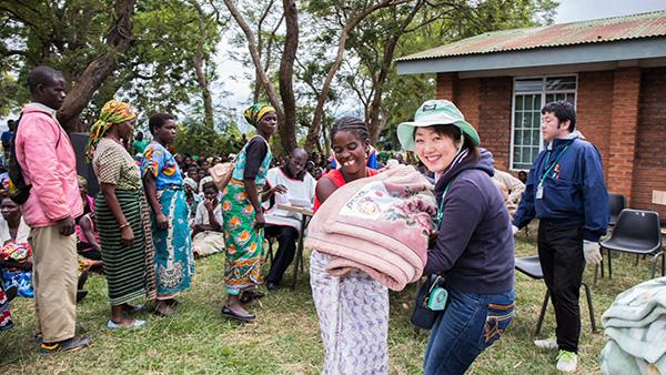 毛布のことをアフリカイ~ボランティア経験者 2016年マラウイ共和国~